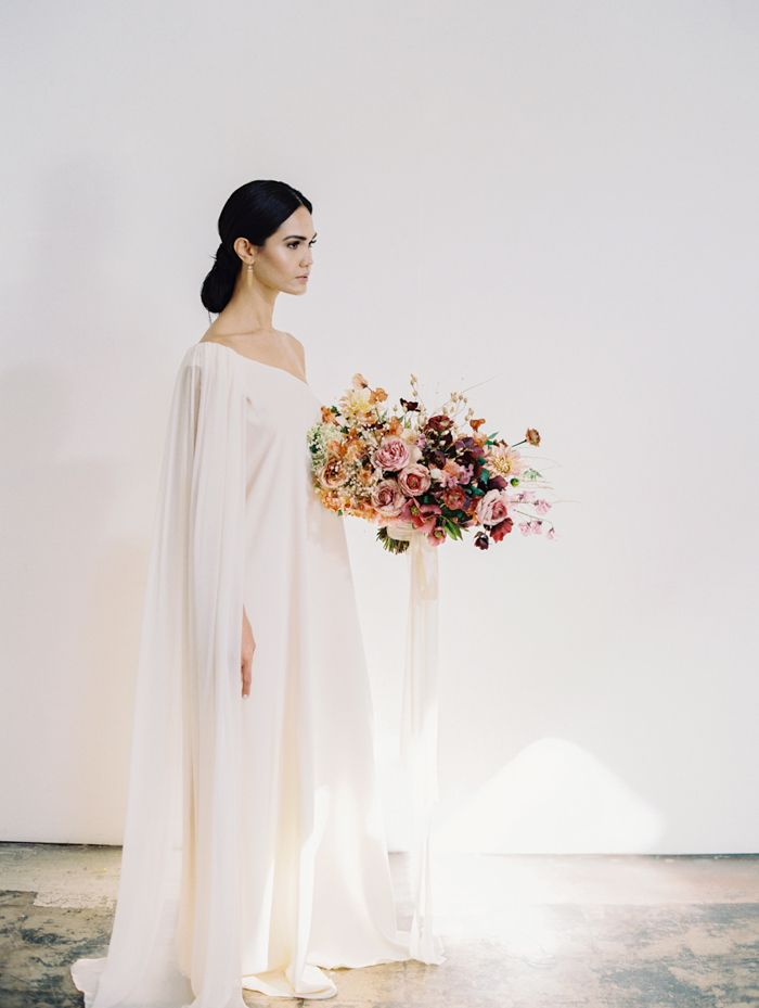 modern runway wedding inspiration 9