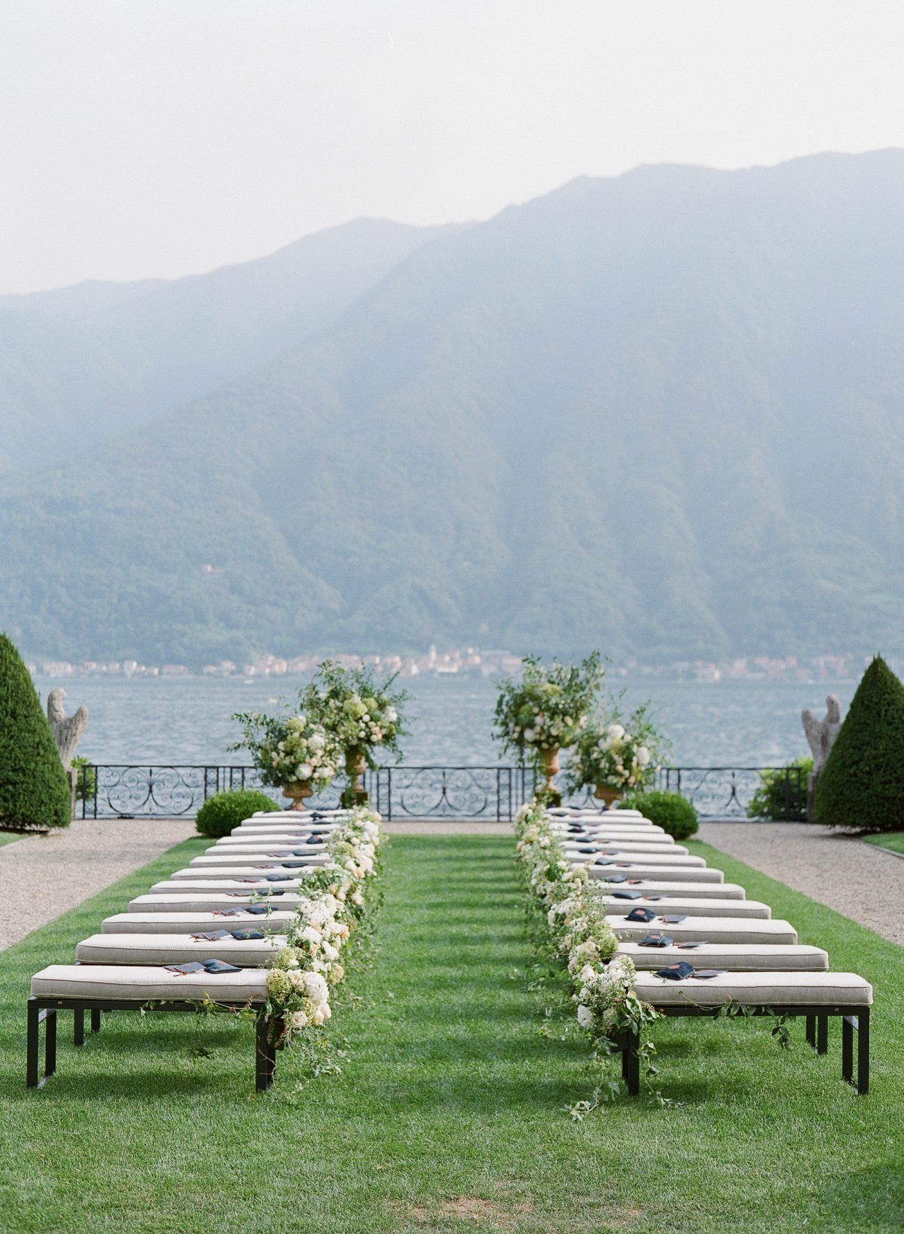 Stunning Backdrops Are Perfection For A Lake Como, Italy Wedding