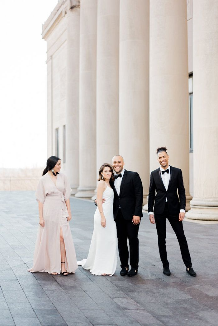 An Elegant and Chic Kansas City Wedding