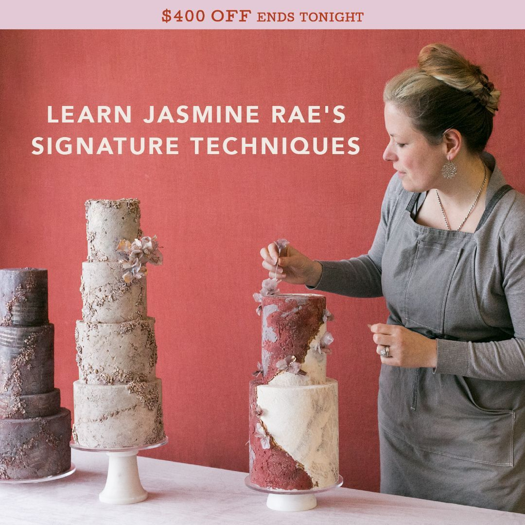 Stunning Cake Design Techniques From Jasmine Rae