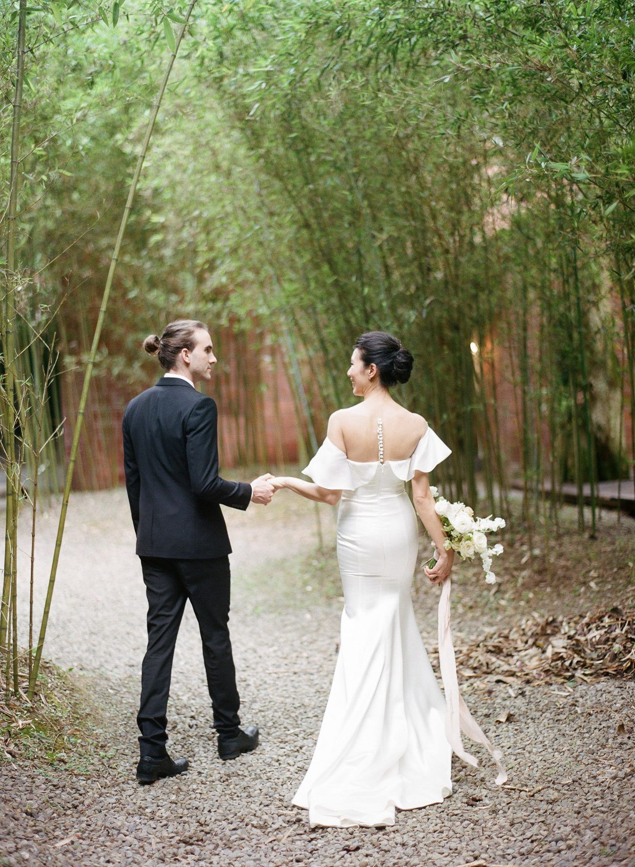 Two Serene, Asian Inspired Wedding Shoots