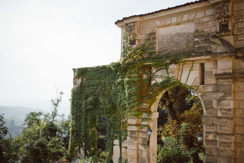 Charming, Refined Italian Wedding