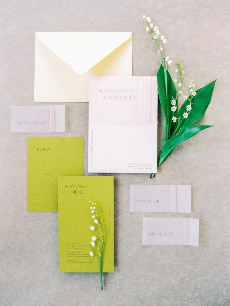 Sumptuous Shades Of Green For Your Wedding