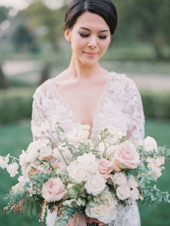 Neutral Wedding Beauty