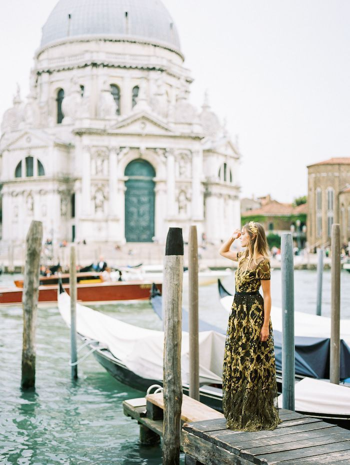 A Modern Bridal Shoot In Glorious Venice