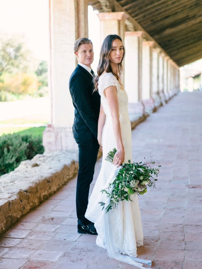 Soft and Romantic La Purisima Mission Wedding
