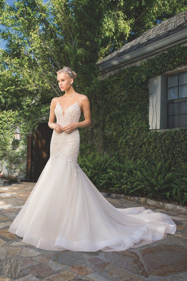 First Look At Selections From Casablanca Bridal's 2019 Spring Collections
