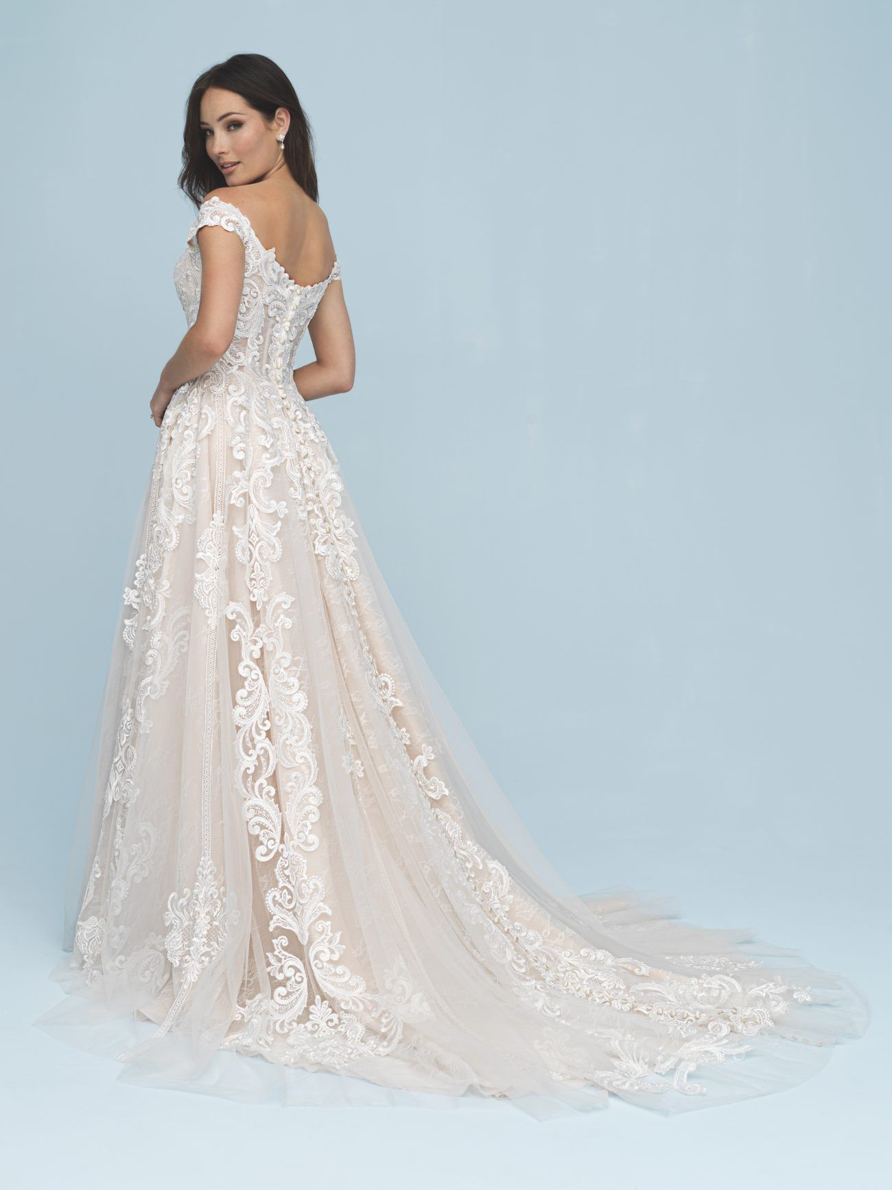 278e9492479 Introducing Allure Bridals Spring 2019 Collection - Once Wed