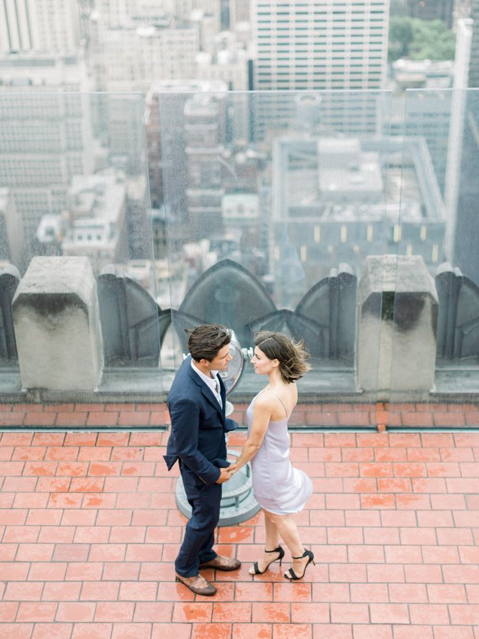 Love Shines Through In A New York City Anniversary Shoot