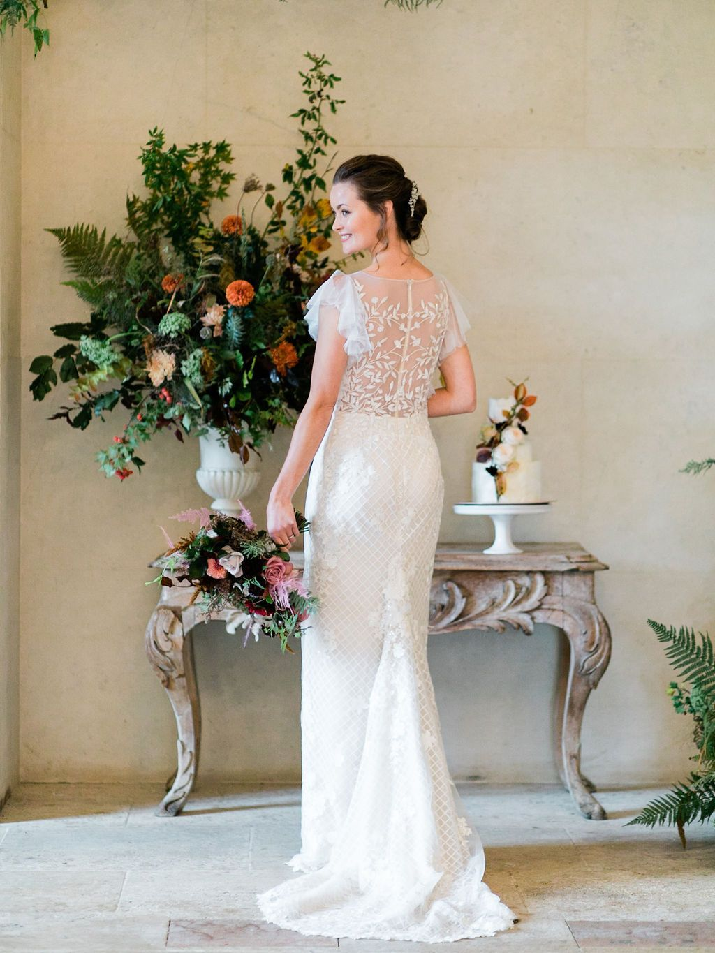 Bridal Styled Shoot at The Lost Orangery -13