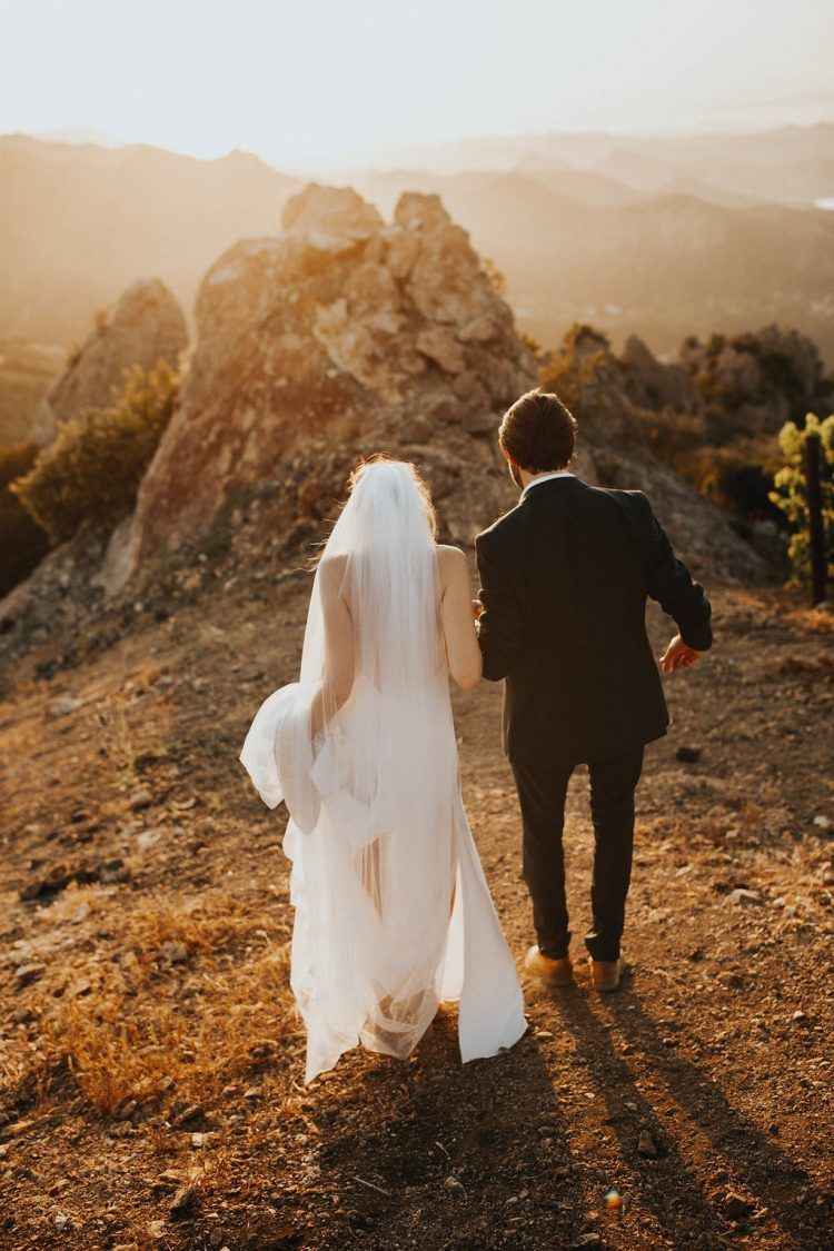 Katrina and Dave's Destination Wedding at the Malibu Rocky Oaks by The Bold Americana