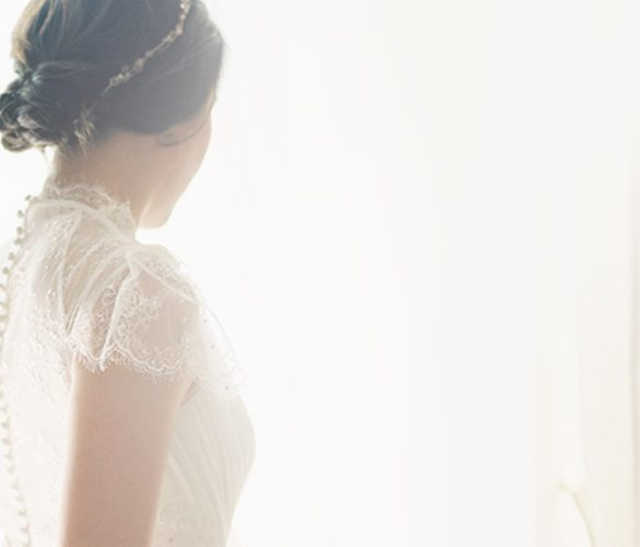 Saved money with a used wedding dress