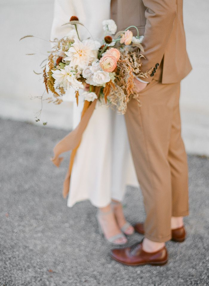 Milk and Honey Inspires Soft Linen and Rich Golden Details in Styled Couples Shoot