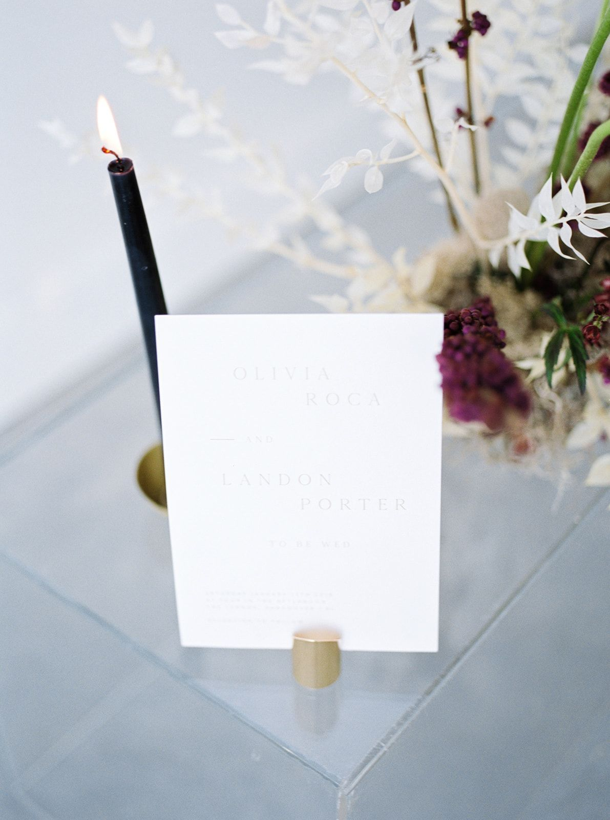 Modern and Chic Wedding Editorial