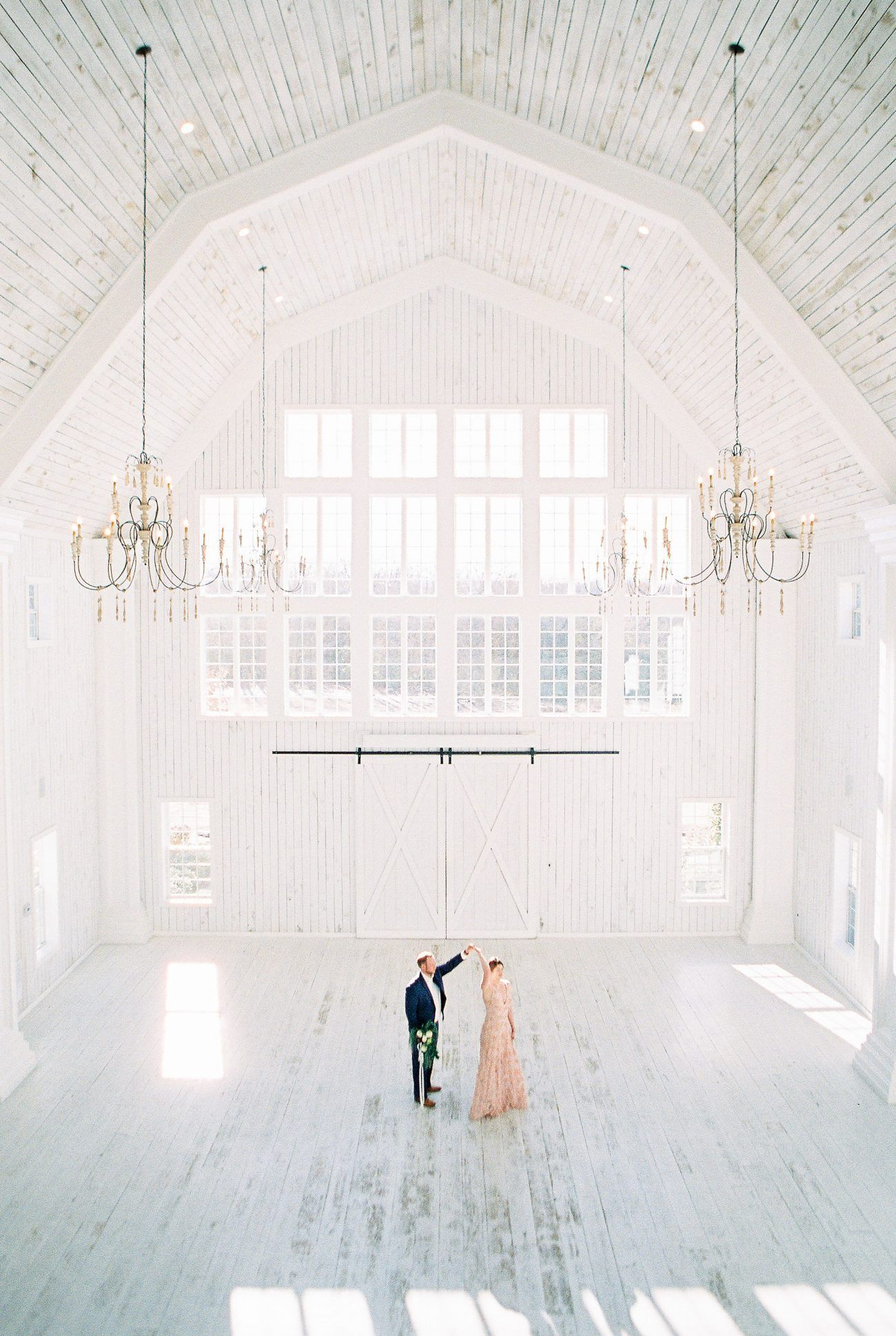 Ashley and Colton Celebrate Their Engagement Surrounded by the Charming Rustic Elegance of The White Sparrow Barn