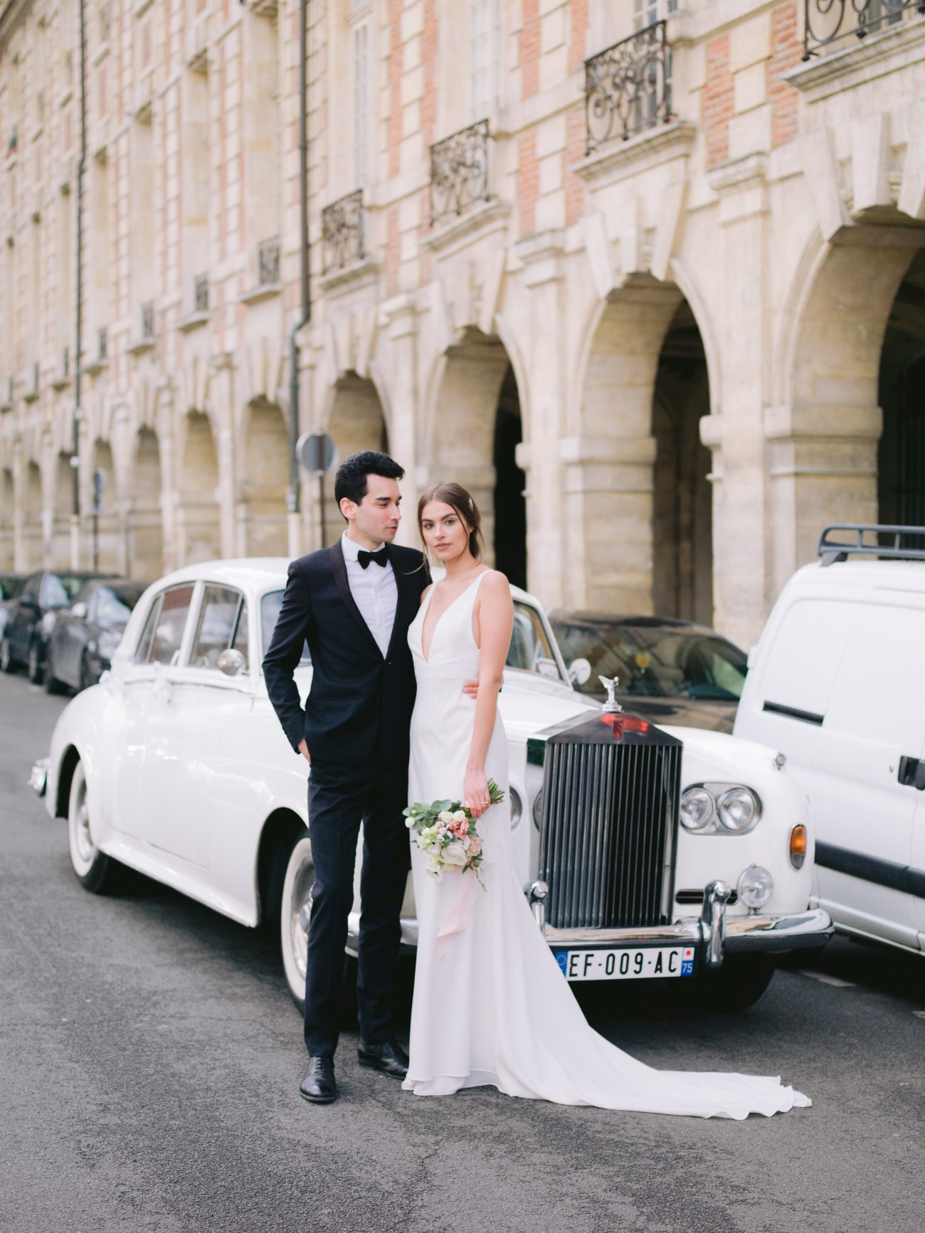 This Dreamy Feminine Elopement in Paris Was The Perfectly Pink Rendezvous for Olesia and Charles
