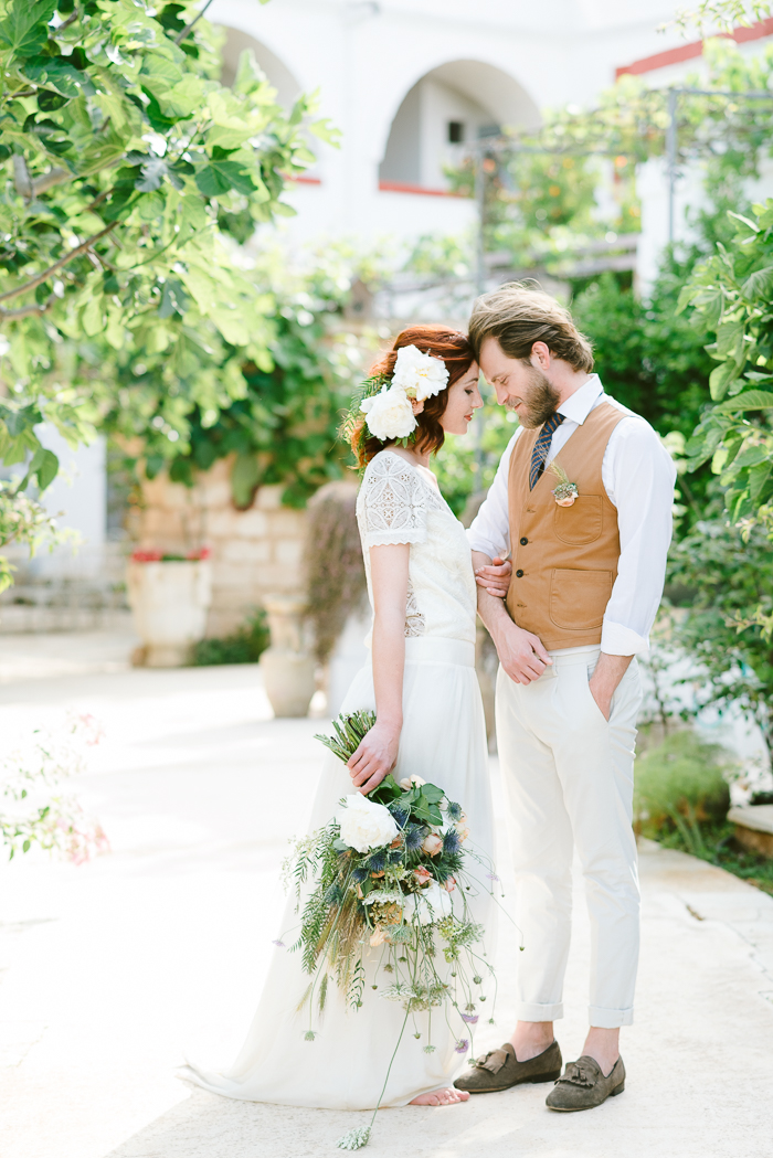This Modern Mediterranean Styled Blue Editorial Was Inspired by a Whirlwind Summer Romance
