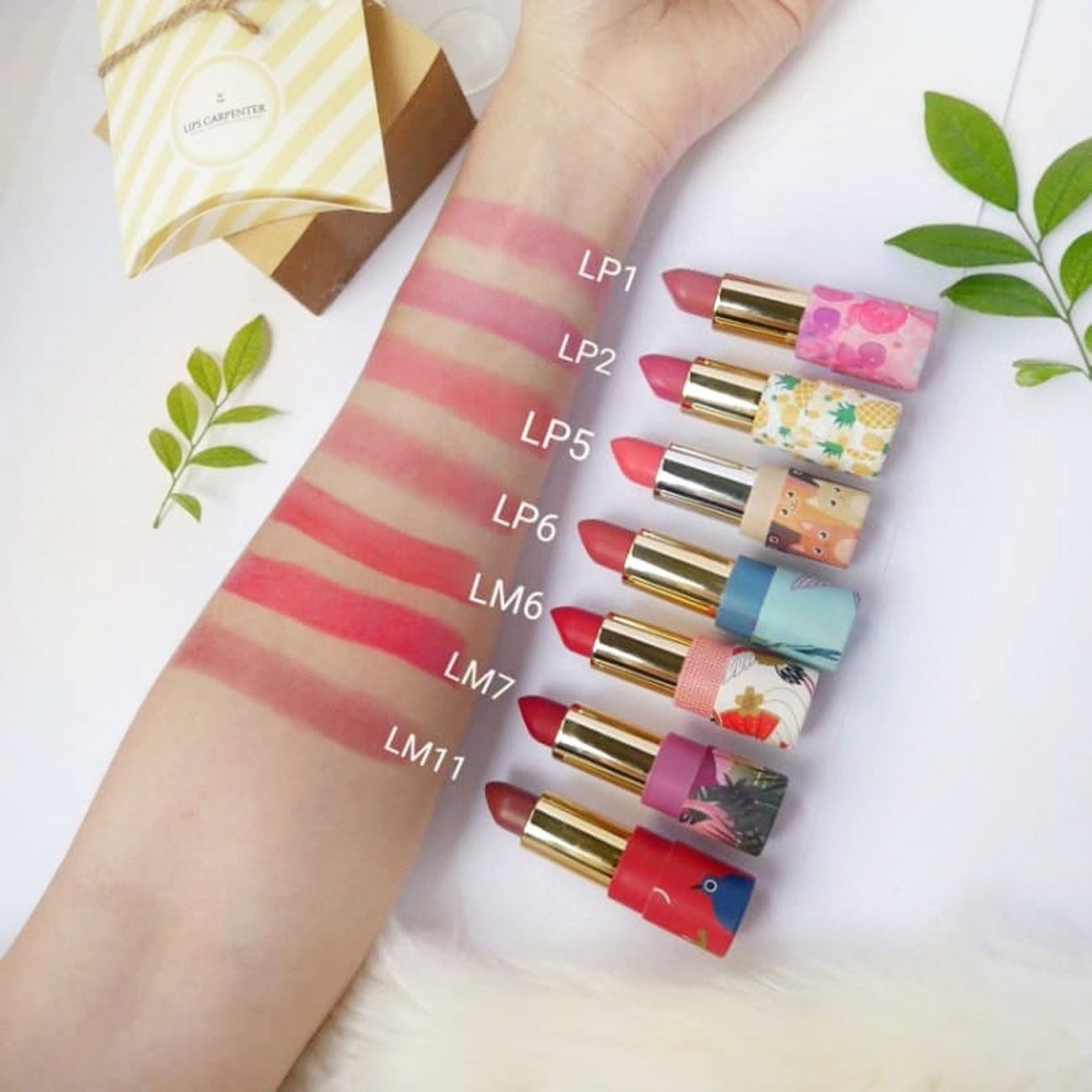 Eco-Friendly Lipsticks