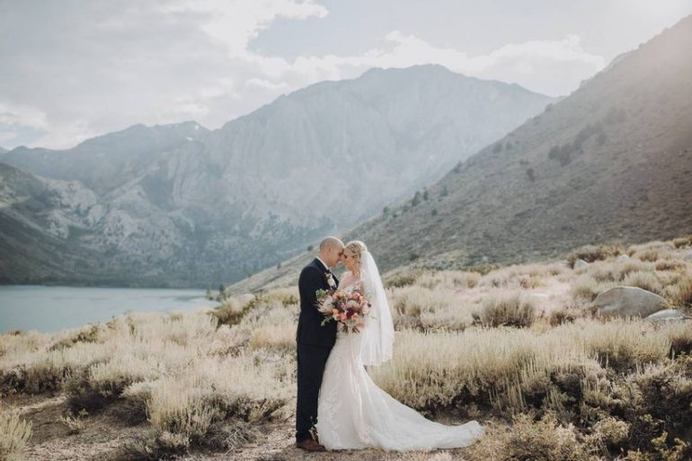 Destination wedding in Yosemite National Park