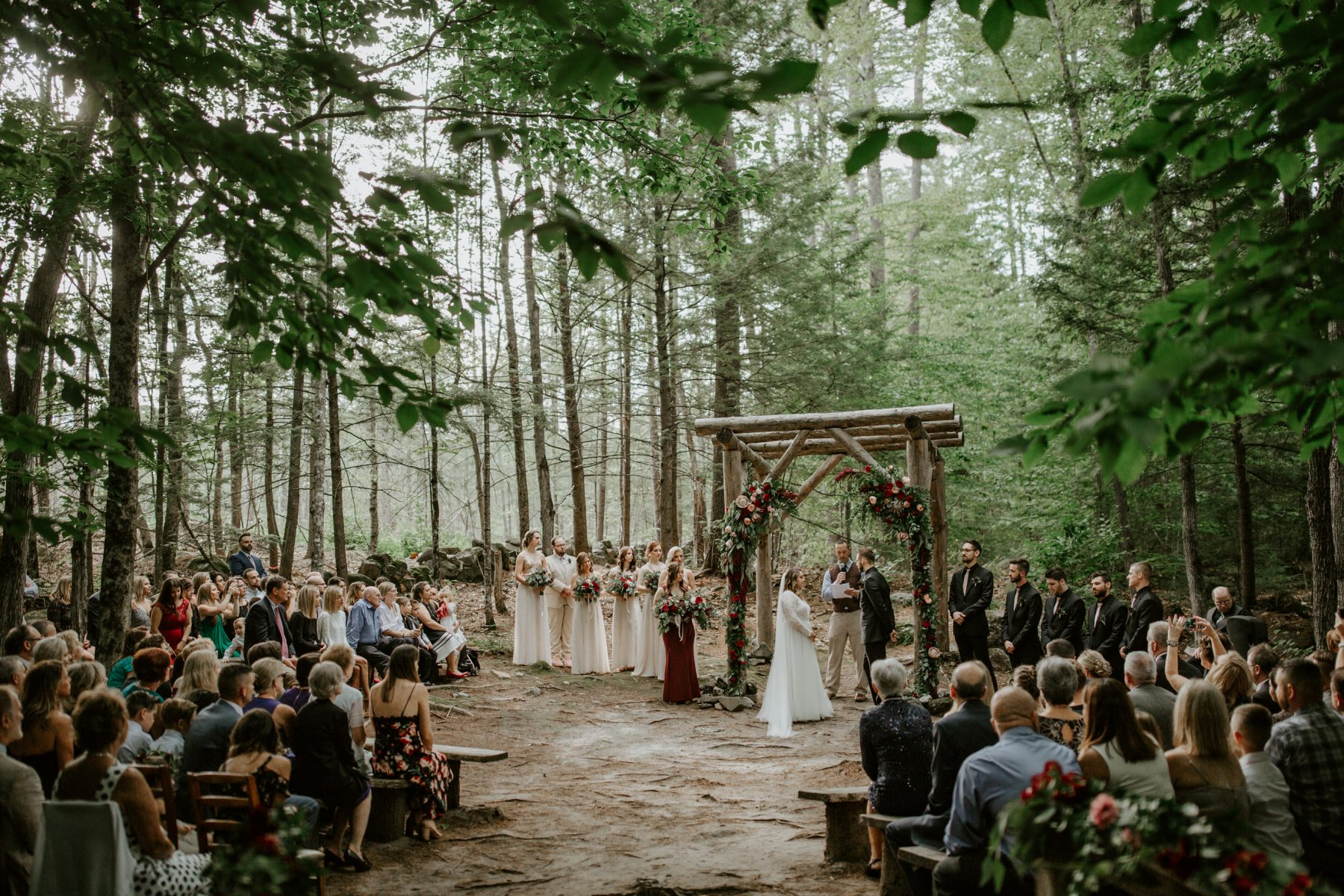Fall wedding in Maine