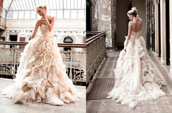 12 Dramatic Wedding Gowns Worth Swooning Over
