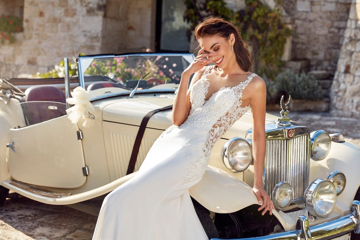 The Isabel gown by Eddy K.