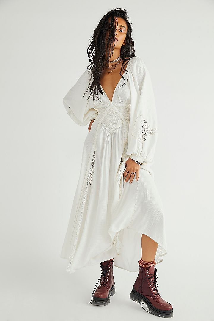 Lace maxi dress by Free People